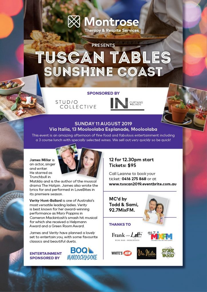 Tuscan Tables 2019