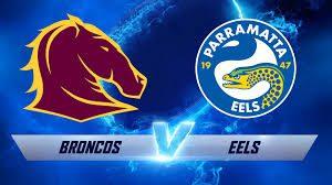 Broncos v Eels