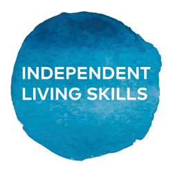 Independent living skills icon