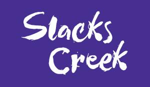 Button for Slacks creek calendar