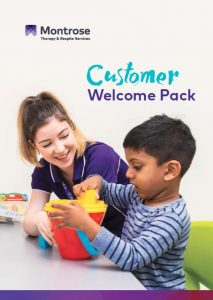 Cover of our customer welcome pack
