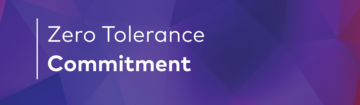 Zero tolerance heading